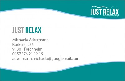 Sunflower Media Gestaltung Für Just Relax Logo Flyer Und